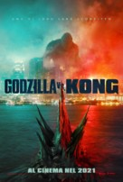 Godzilla vs. Kong - Italian Movie Poster (xs thumbnail)