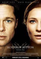 The Curious Case of Benjamin Button - Hungarian Movie Poster (xs thumbnail)