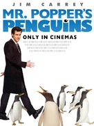 Mr. Popper's Penguins - British poster (xs thumbnail)