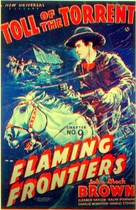 Flaming Frontiers - Movie Poster (xs thumbnail)