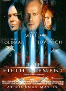 The Fifth Element - Advance movie poster (xs thumbnail)