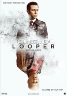 Looper - Dutch Movie Poster (xs thumbnail)