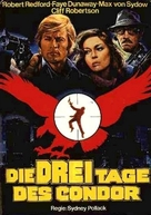 Three Days of the Condor - German Movie Poster (xs thumbnail)