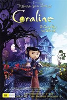 Coraline - Australian Movie Poster (xs thumbnail)