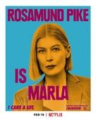 I Care a Lot - British Movie Poster (xs thumbnail)