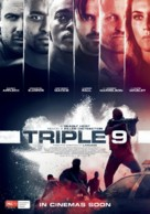 Triple 9 - Australian Movie Poster (xs thumbnail)