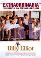 Billy Elliot - Mexican Movie Poster (xs thumbnail)