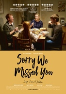 Sorry We Missed You - Danish Movie Poster (xs thumbnail)