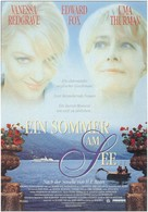 A Month by the Lake - German Movie Poster (xs thumbnail)
