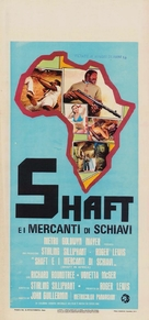 Shaft in Africa - Italian Movie Poster (xs thumbnail)
