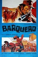 Barquero - Czech Movie Poster (xs thumbnail)
