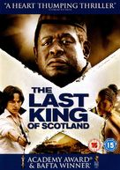 The Last King of Scotland - British DVD cover (xs thumbnail)