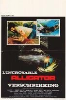 Alligator - Belgian Movie Poster (xs thumbnail)