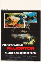 Alligator - Belgian Movie Poster (xs thumbnail)