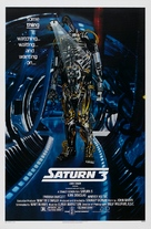 Saturn 3 - Theatrical movie poster (xs thumbnail)