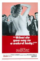 What Do You Say to a Naked Lady? - Movie Poster (xs thumbnail)