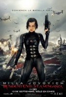 Resident Evil: Retribution - Chilean Movie Poster (xs thumbnail)
