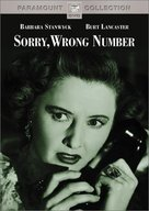 Sorry, Wrong Number - DVD cover (xs thumbnail)