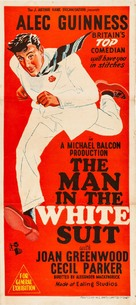 The Man in the White Suit - Australian Movie Poster (xs thumbnail)