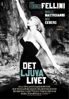 La dolce vita - Swedish Movie Poster (xs thumbnail)