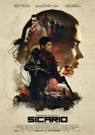 Sicario - Estonian Movie Poster (xs thumbnail)