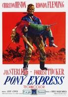 Pony Express - Italian Movie Poster (xs thumbnail)