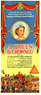 A Queen Is Crowned - Australian Movie Poster (xs thumbnail)