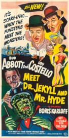 Abbott and Costello Meet Dr. Jekyll and Mr. Hyde - Australian Movie Poster (xs thumbnail)