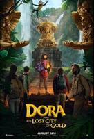 Dora and the Lost City of Gold - Indonesian Movie Poster (xs thumbnail)
