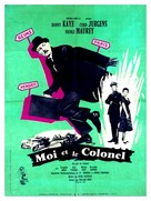Me and the Colonel - French Movie Poster (xs thumbnail)