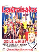 The Crusades - French Movie Poster (xs thumbnail)