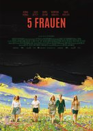 5 Frauen - German Movie Poster (xs thumbnail)