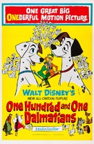 One Hundred and One Dalmatians - Movie Poster (xs thumbnail)