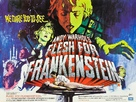 Flesh for Frankenstein - British Movie Poster (xs thumbnail)