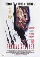 Carnosaur 3: Primal Species - British DVD movie cover (xs thumbnail)
