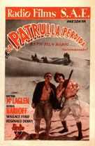 The Lost Patrol - Spanish Movie Poster (xs thumbnail)