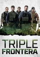 Triple Frontier - Spanish Movie Cover (xs thumbnail)