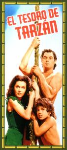 Tarzan's Secret Treasure - Spanish Movie Cover (xs thumbnail)