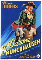 Münchhausen - Italian Movie Poster (xs thumbnail)