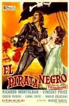 Gordon, il pirata nero - Spanish Movie Poster (xs thumbnail)