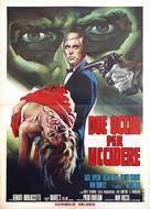 Due occhi per uccidere - Italian Movie Poster (xs thumbnail)