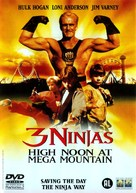 3 Ninjas: High Noon at Mega Mountain - Dutch DVD movie cover (xs thumbnail)