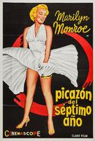 The Seven Year Itch - Uruguayan Movie Poster (xs thumbnail)
