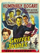 Across the Pacific - Belgian Movie Poster (xs thumbnail)