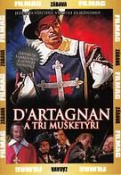 D'Artagnan et les trois mousquetaires - Czech DVD cover (xs thumbnail)