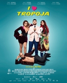 I Love Tropoja - Bosnian Movie Poster (xs thumbnail)