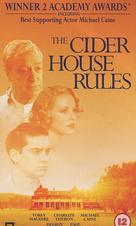 The Cider House Rules - British VHS movie cover (xs thumbnail)