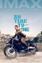 No Time to Die - Italian Movie Poster (xs thumbnail)