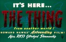 The Thing From Another World - British Movie Poster (xs thumbnail)