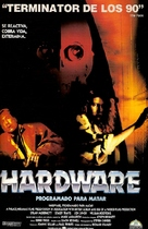 Hardware - Spanish Movie Poster (xs thumbnail)